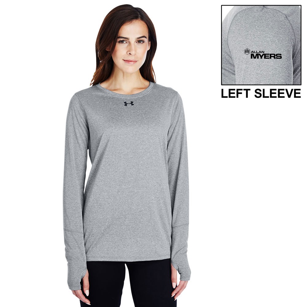 LADIES UA LONG SLEEVE LOCKER T-SHIRT 2.0