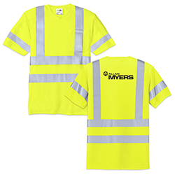 CLASS 3 SAFETY T-SHIRT